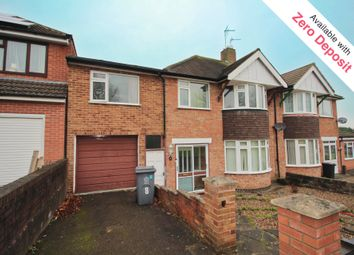 Thumbnail 4 bedroom terraced house to rent in Brent Knowle Gardens, Leicester