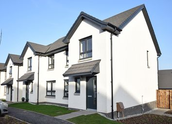 Thumbnail 3 bedroom semi-detached house for sale in Milligan Drive, Edinburgh