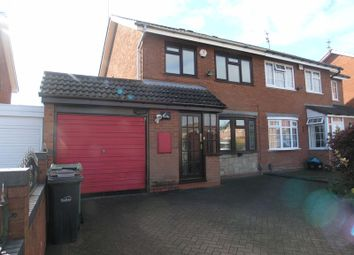 Thumbnail 3 bed semi-detached house for sale in Mendip Road, Hayley Green, Halesowen