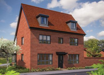 "Thumbnail 5 bed detached house for sale in ""The Wolverton"" at Barrosa Way, Whitehouse, Milton Keynes"