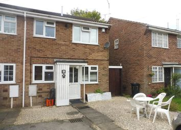 Thumbnail 2 bed town house for sale in Lockington Close, Chellaston, Derby