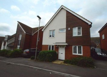 Thumbnail 4 bedroom detached house for sale in Corfe Meadows, Broughton, Milton Keynes