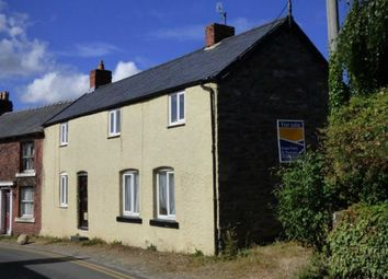 Thumbnail 3 bed semi-detached house for sale in Llansilin, Oswestry