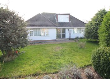 Thumbnail 3 bedroom detached bungalow for sale in Foxcover Road, Heswall, Wirral