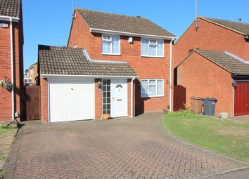 Thumbnail 3 bed detached house for sale in Blakeney Drive, Luton, Bedfordshire