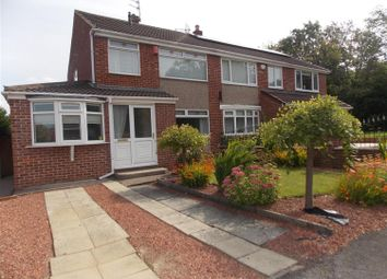 Thumbnail 3 bedroom semi-detached house for sale in Shadwell Close, Middlesbrough