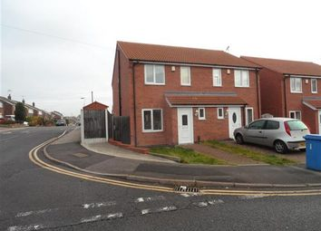 Thumbnail 3 bed semi-detached house to rent in Broomhill Lane, Mansfield