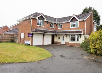 Thumbnail 5 bed detached house for sale in Halberd Close, Burbage