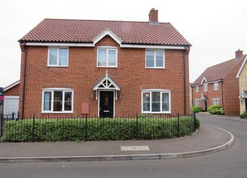 Thumbnail 4 bedroom detached house for sale in Gimbert Road, Soham, Ely