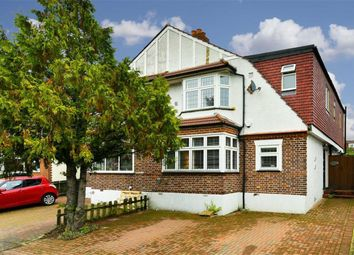 Thumbnail 4 bed semi-detached house for sale in Ewell By Pass, Ewell, Surrey