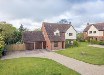 Thumbnail 4 bedroom detached house for sale in Manor Farm Grove, Hintlesham
