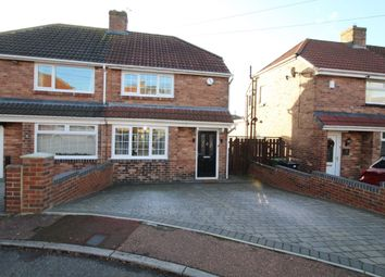 Thumbnail 2 bed semi-detached house for sale in Belford Gardens, Lobley Hill, Gateshead