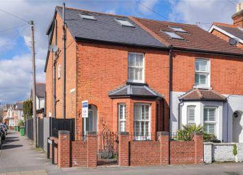 Thumbnail 4 bed semi-detached house for sale in Elmgrove Road, Weybridge, Surrey