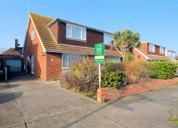 Thumbnail 3 bed semi-detached house for sale in Russell Drive, Whitstable, Kent