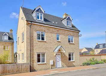 Thumbnail 4 bed town house for sale in Kides Crescent, Longstanton, Cambridge