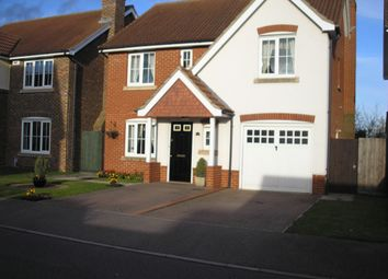 Thumbnail 4 bed detached house to rent in Sage Close, Biggleswade
