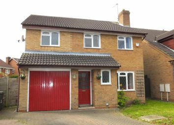 Thumbnail 4 bedroom detached house for sale in Knights Court, Burton On Trent, Staffordshire