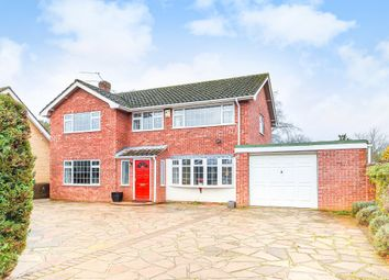 Thumbnail 4 bed detached house for sale in Brettingham Avenue, Cringleford, Norwich