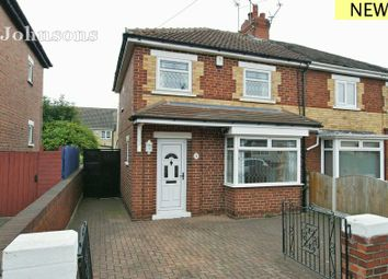 Thumbnail 2 bed semi-detached house for sale in Dixon Crescent, Balby, Doncaster.