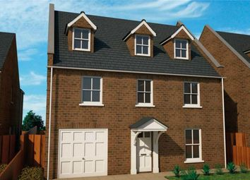 Thumbnail 5 bed detached house for sale in Kettle Drive, Newborough, Peterborough