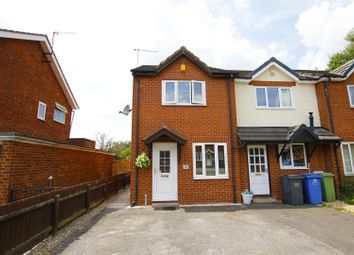 Thumbnail 2 bed end terrace house for sale in Muirfield Close, Tapton Lock, Chesterfield