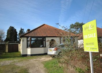 Thumbnail 3 bed detached bungalow for sale in Pilling Road, Thorpe St. Andrew, Norwich