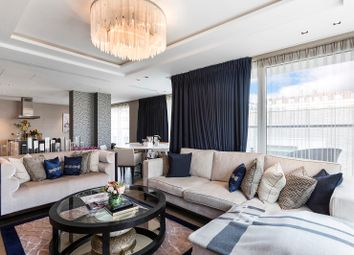 Thumbnail 3 bedroom flat for sale in Radnor Terrace, Bridgeman House, Kensington, London
