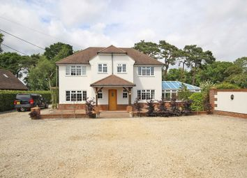 Thumbnail 4 bed detached house for sale in Solent Road, Naish Estate, New Milton