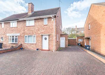 Thumbnail 2 bed semi-detached house for sale in Leys Wood Croft, Sheldon, Birmingham