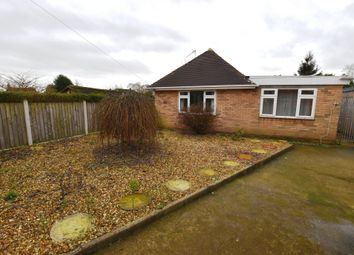 Thumbnail 2 bed detached bungalow for sale in Clive Road, Market Drayton