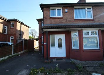 Thumbnail 3 bed semi-detached house to rent in 369 Barton Road, Stretford, Manchester