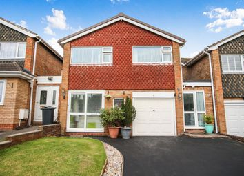 Thumbnail 3 bed detached house for sale in Knutswood Close, Moseley, Birmingham
