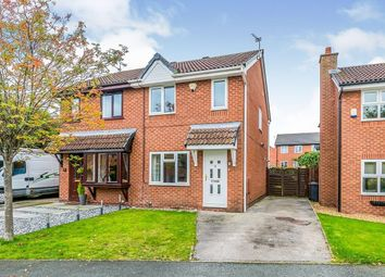 Thumbnail 2 bed semi-detached house to rent in Davenham Way, Middlewich