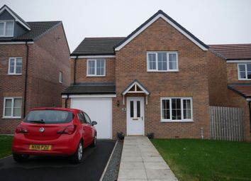 Thumbnail 4 bed detached house for sale in Hazelbank, Coundon Gate, Bishop Auckland