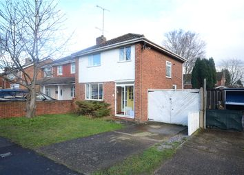 Thumbnail 3 bedroom semi-detached house for sale in Fairwater Drive, Woodley, Reading
