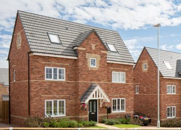 "Thumbnail 4 bedroom detached house for sale in ""Hexley"" at Eldon Way, Crick Industrial Estate, Crick, Northampton"