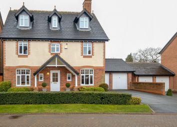 Thumbnail 6 bed detached house for sale in Wellcroft Gardens, Lymm