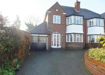 Thumbnail 3 bed semi-detached house to rent in Holifast Road, Sutton Coldfield