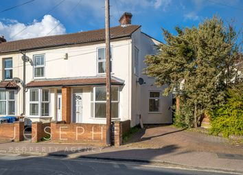 Thumbnail 2 bed end terrace house for sale in St Johns Road, Ipswich