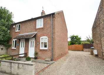 Thumbnail 1 bed semi-detached house to rent in Main Street, Barmby Moor, York