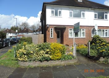 Thumbnail 2 bed maisonette to rent in Holwell Place, Eastcote, Pinner, Greater London