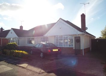 Thumbnail 2 bed semi-detached house for sale in Foxhunter Drive, Oadby, Leicestershire