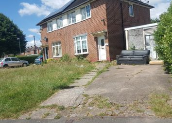 Thumbnail 1 bed semi-detached house to rent in Flaxton Grove, Birmingham