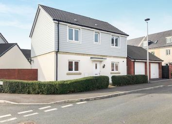 Thumbnail 3 bedroom detached house for sale in Vernon Crescent, Exeter