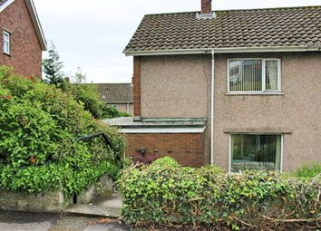 Thumbnail 2 bed semi-detached house for sale in Laburnum Place, Sketty, Swansea