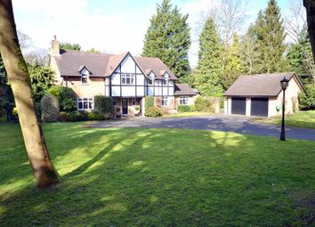 Thumbnail 4 bed detached house for sale in Cranley Road, Burwood Park, Hersham, Walton-On-Thames
