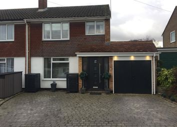 Thumbnail 3 bed semi-detached house for sale in Langdale Close, Dunstable
