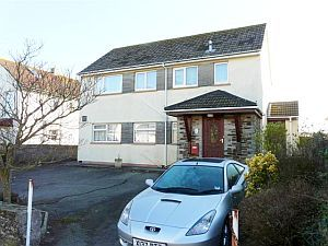 Thumbnail 2 bed flat to rent in Bay View Road, Looe