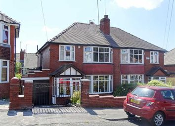 Thumbnail 3 bed semi-detached house for sale in Glebelands Road, Prestwich, Manchester