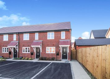 Thumbnail 2 bedroom end terrace house for sale in 30 Wheatcroft Drive, Nottingham
